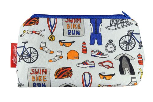 Selina-Jayne Triathlon Limited Edition Designer Cosmetic Bag